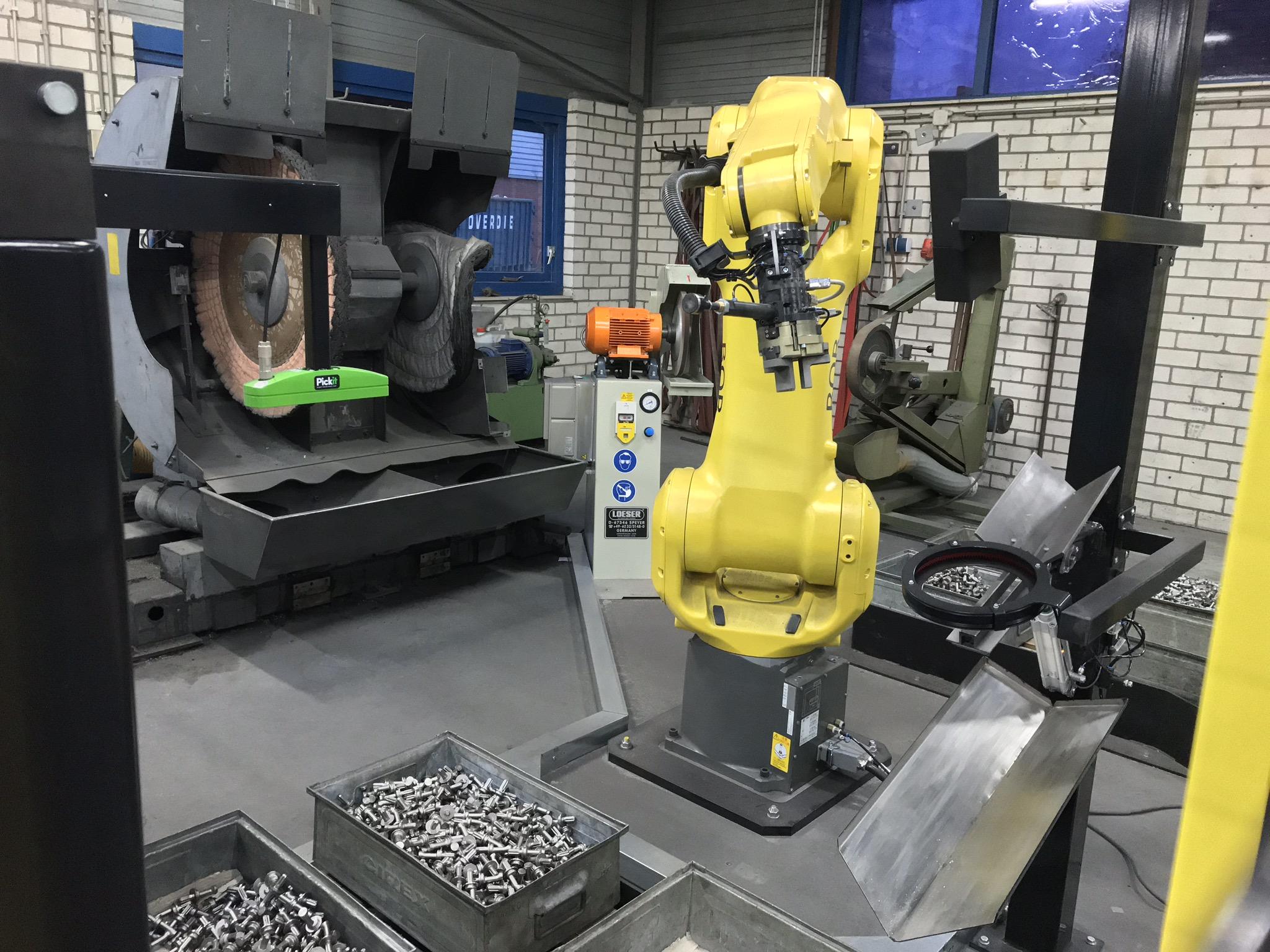 Automated Robot grinding and polishing