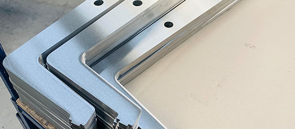 Grinding blades milled profiles