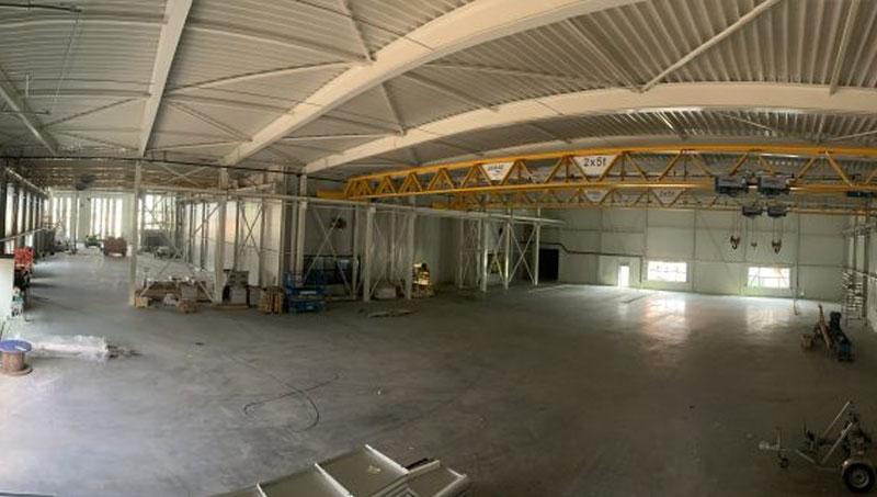 New production hall Van Geenen.