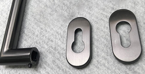 PVD coated smaller components